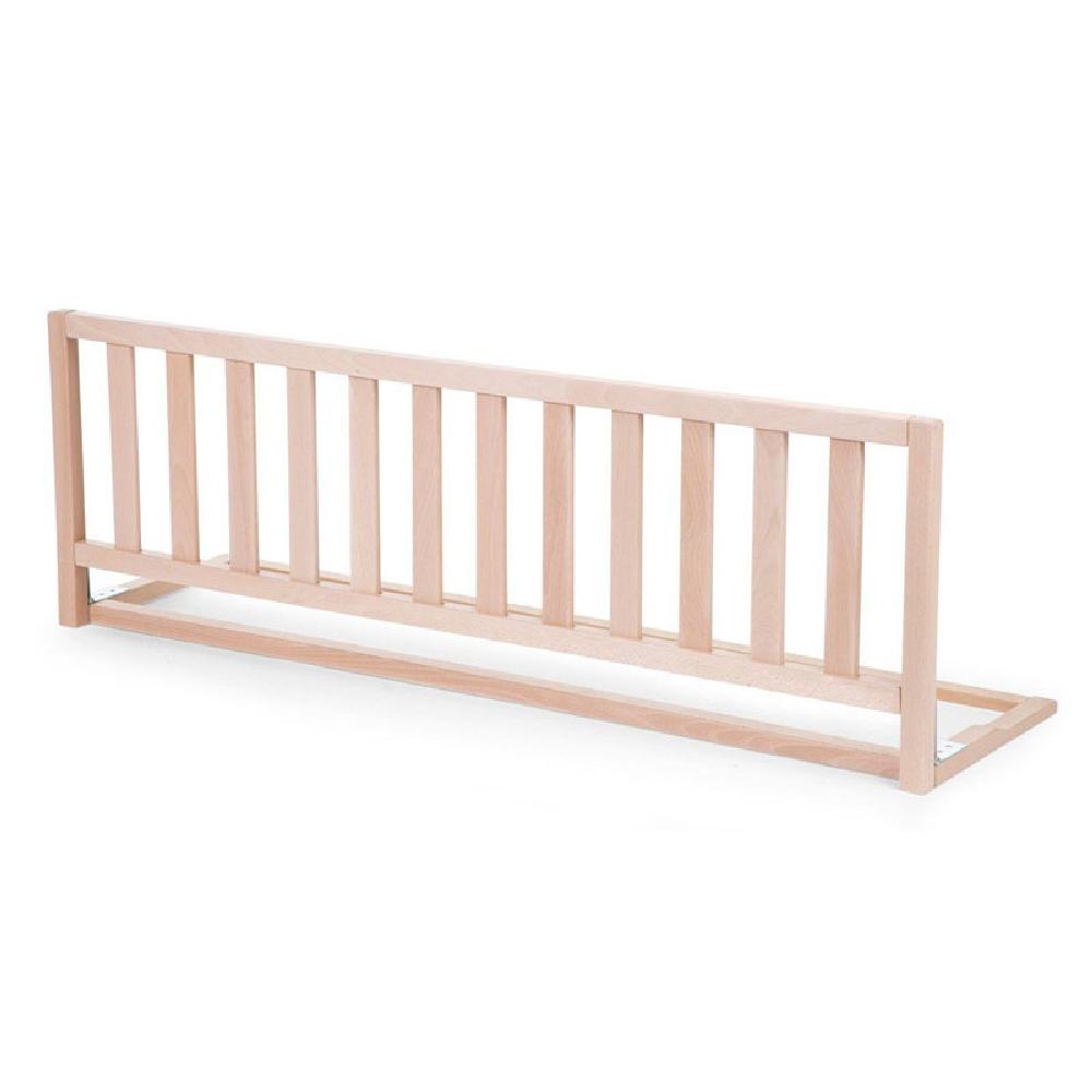 Childhome - Drewniana barierka do łóżka 120 cm Natural | Esy Floresy