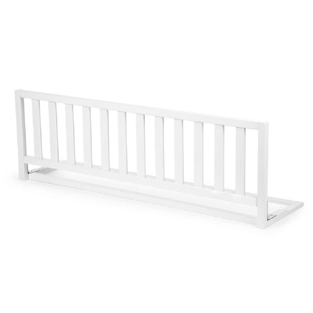 Childhome - Drewniana barierka do łóżka 120 cm White | Esy Floresy