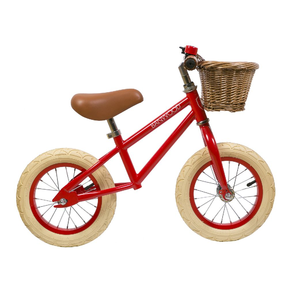 Banwood - FIRST GO! rowerek biegowy Red | Esy Floresy
