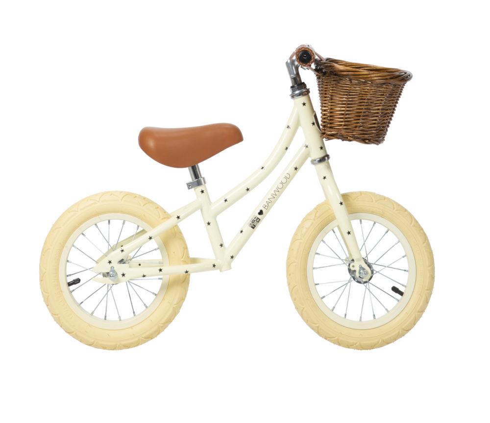 Banwood - FIRST GO! Rowerek biegowy Bonton Cream | Esy Floresy