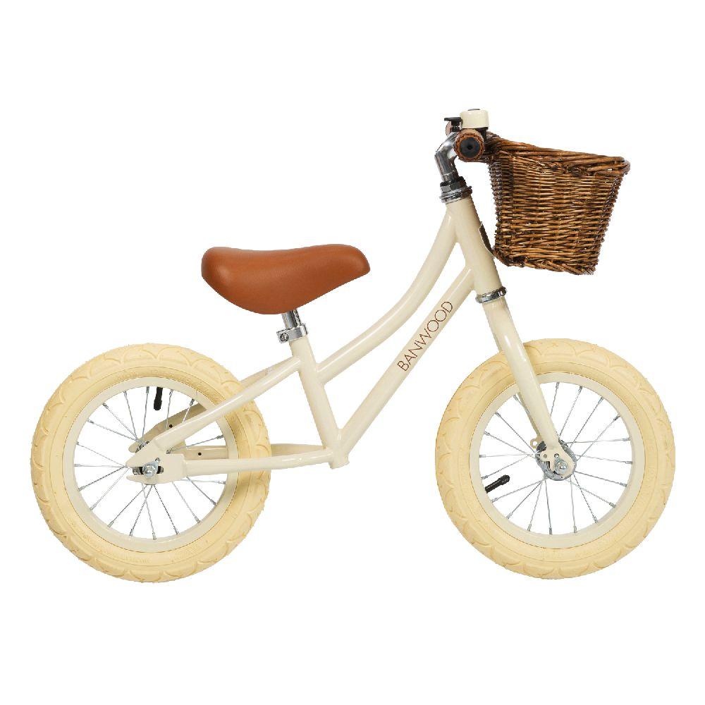Banwood - FIRST GO! rowerek biegowy Cream | Esy Floresy