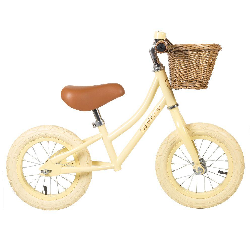 Banwood - FIRST GO! rowerek biegowy Vanilla | Esy Floresy