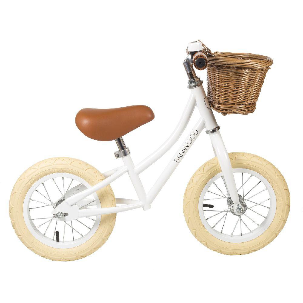 Banwood - FIRST GO! rowerek biegowy White | Esy Floresy