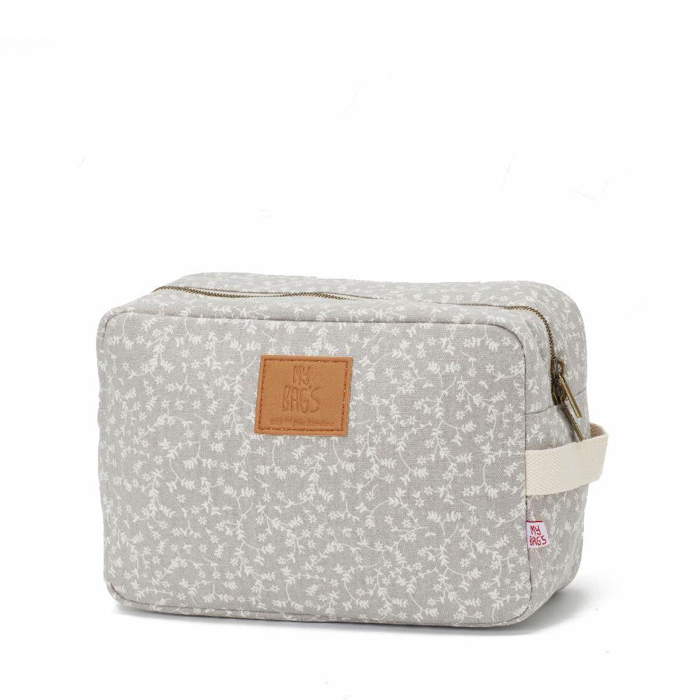 My Bag's - Kosmetyczka My Liberty Flowers light grey | Esy Floresy