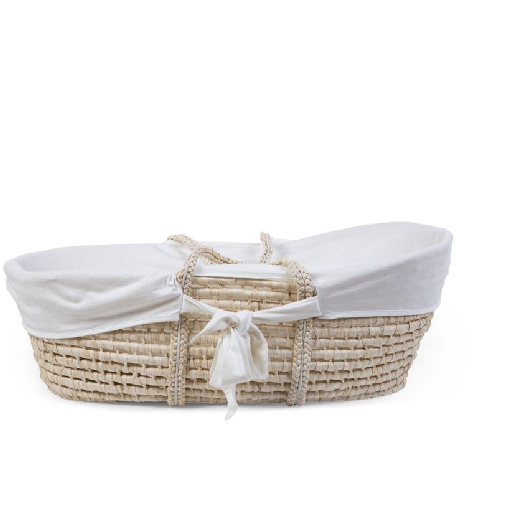 Childhome - Pokrowiec do kosza mojżeszowego Jersey Off White | Esy Floresy