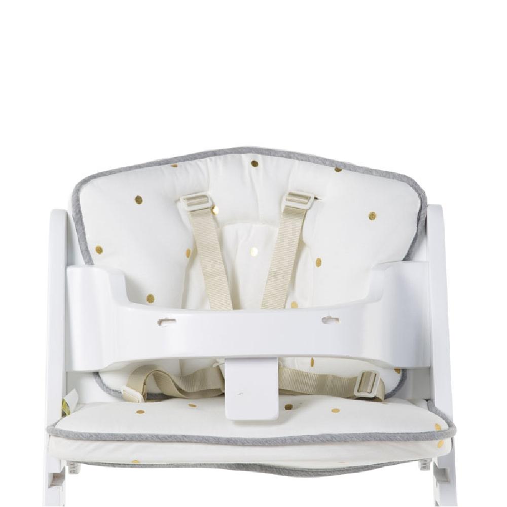 Childhome - Ochraniacz do krzesełka Lambda Jersey Gold Dots | Esy Floresy