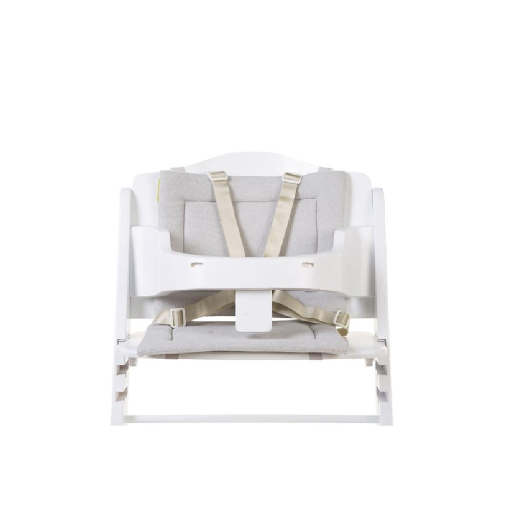 Childhome - Ochraniacz do krzesełka Lambda Frotte Pastel Mouse Grey | Esy Floresy