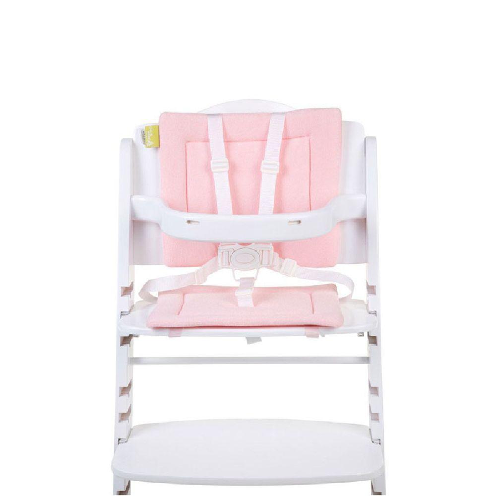 Childhome - Ochraniacz do krzesełka Lambda Frotte Pastel Pink | Esy Floresy