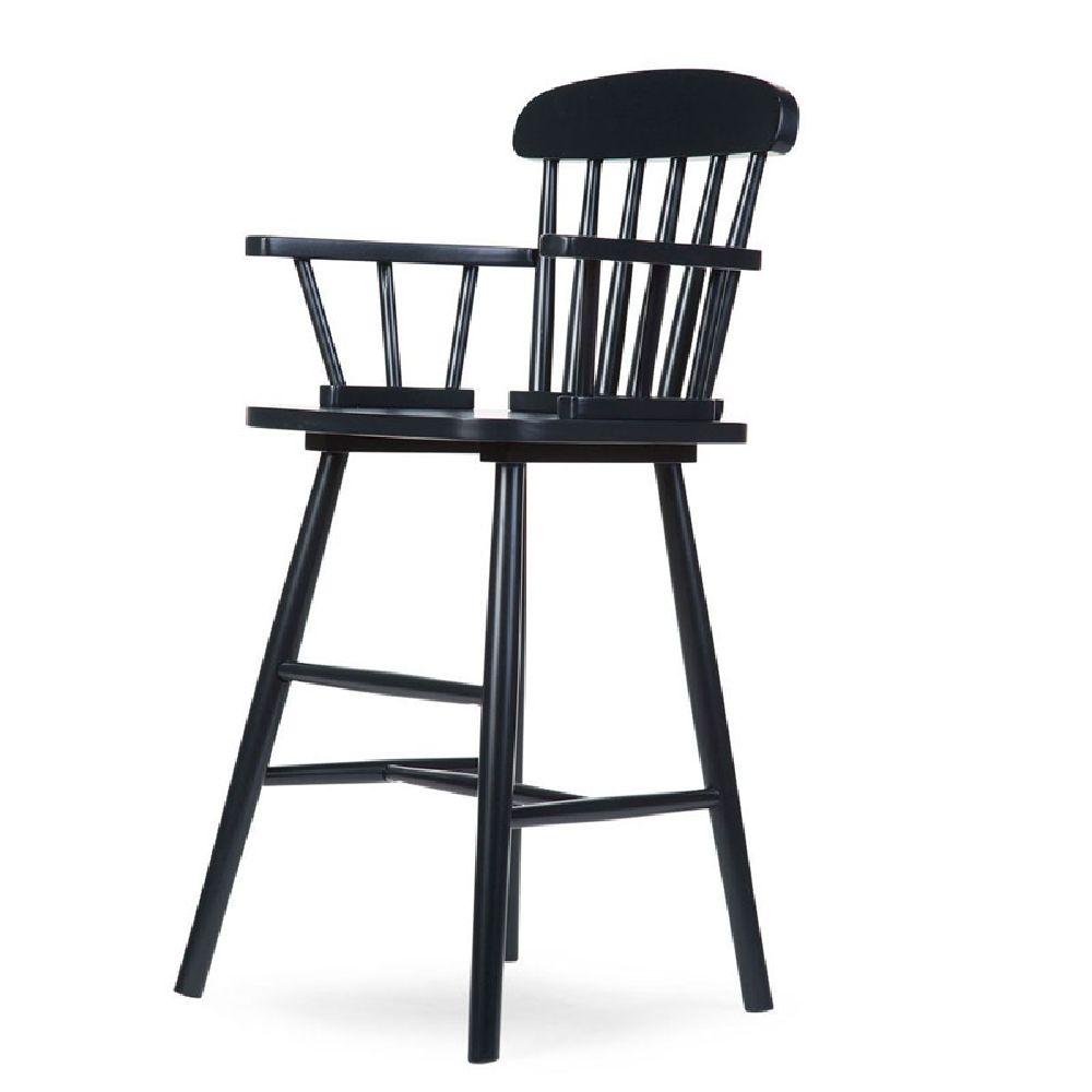 Childhome - Krzesełko wysokie dziecięce Atlas black | Esy Floresy