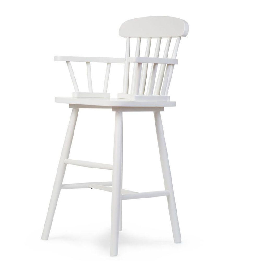 Childhome - Krzesełko wysokie dziecięce Atlas white | Esy Floresy