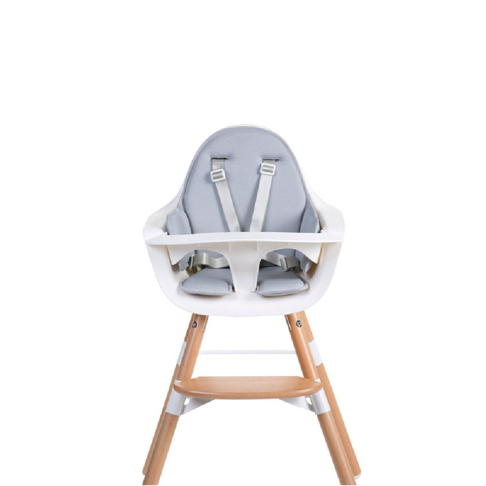 Childhome - Ochraniacz neoprenowy do krzesełka Evolu 2 Light Grey | Esy Floresy