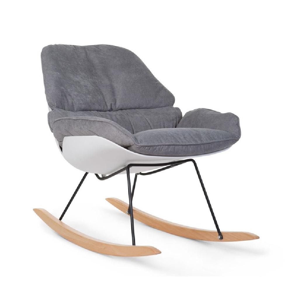 Childhome - Fotel bujany Lounge White/Grey   Esy Floresy