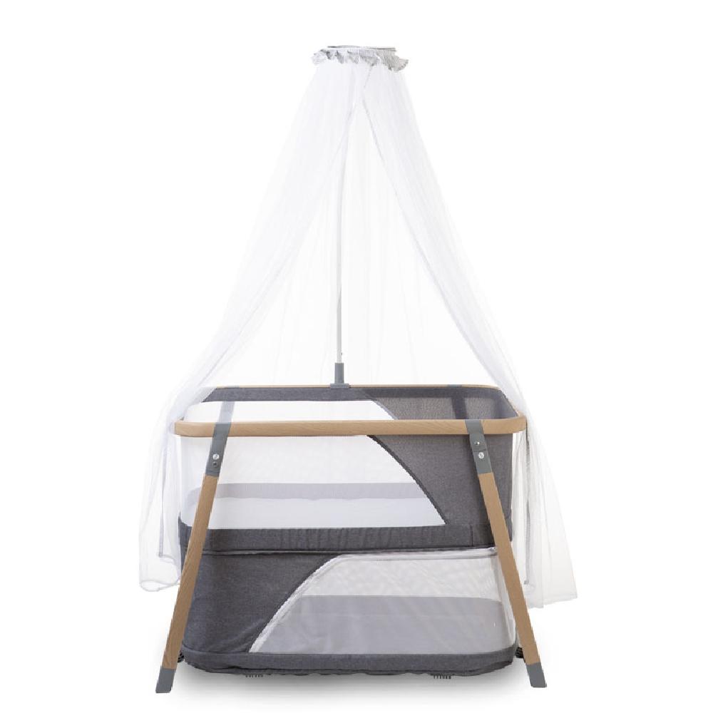 Childhome - Składana kołyska z moskitierą Nacalu Woodlook | Esy Floresy