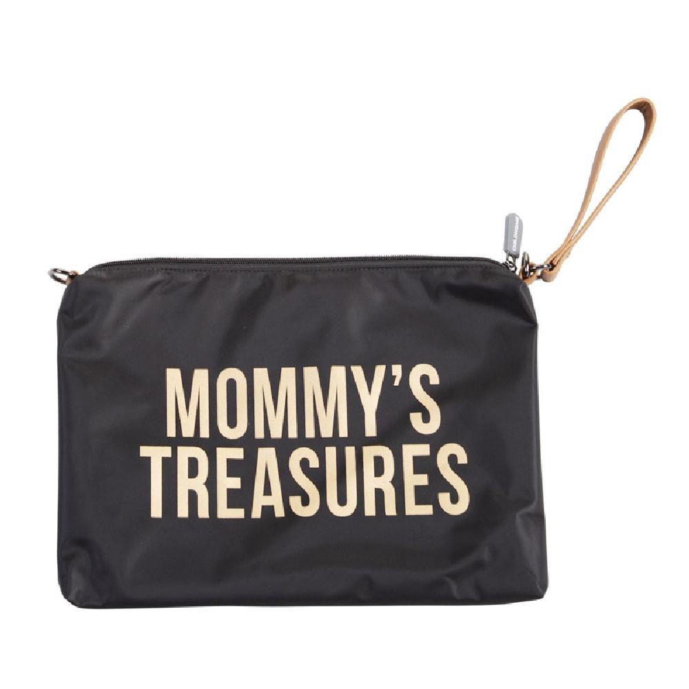Childhome - Saszetka Mommy's Treasures Czarno-Złota | Esy Floresy