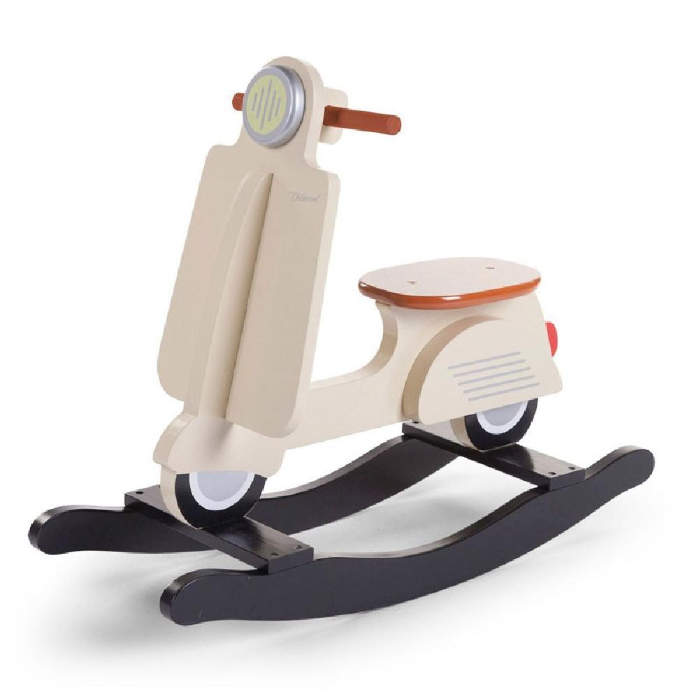 Childhome - Bujak na biegunach skuter Vintage Cream   Esy Floresy