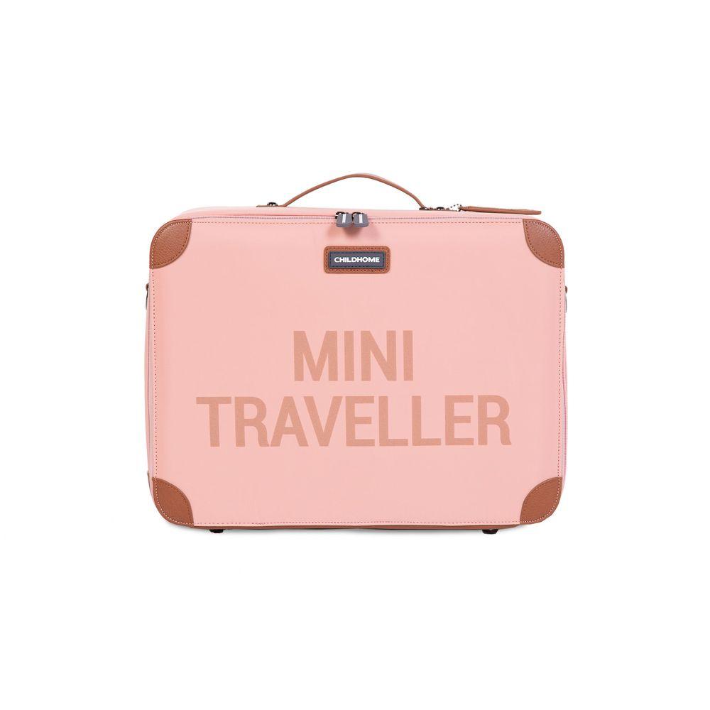 Childhome - Walizka dziecięca Mini Traveller Różowa   Esy Floresy
