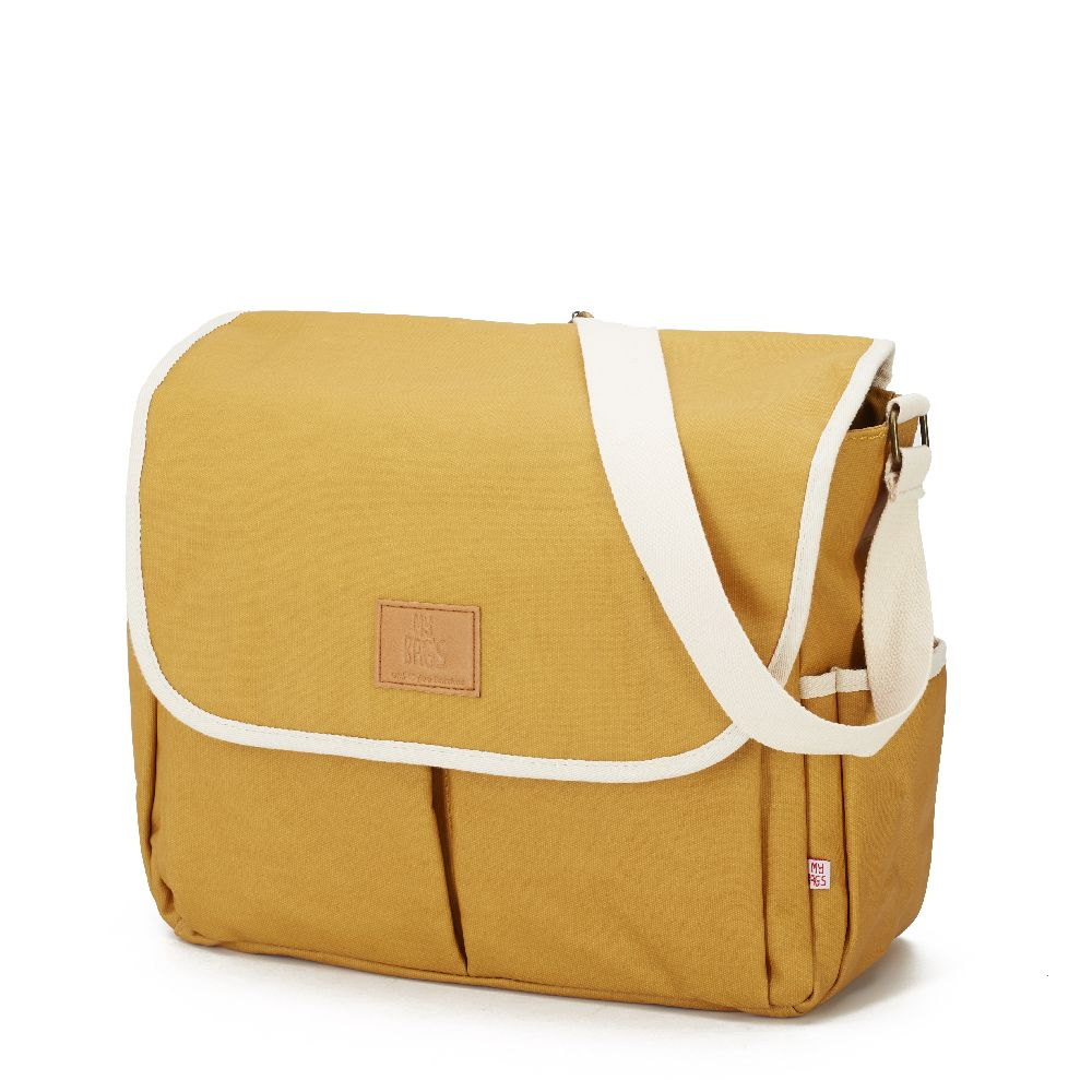 My Bag's - Torba do wózka Flap Bag Happy Family Ochre | Esy Floresy