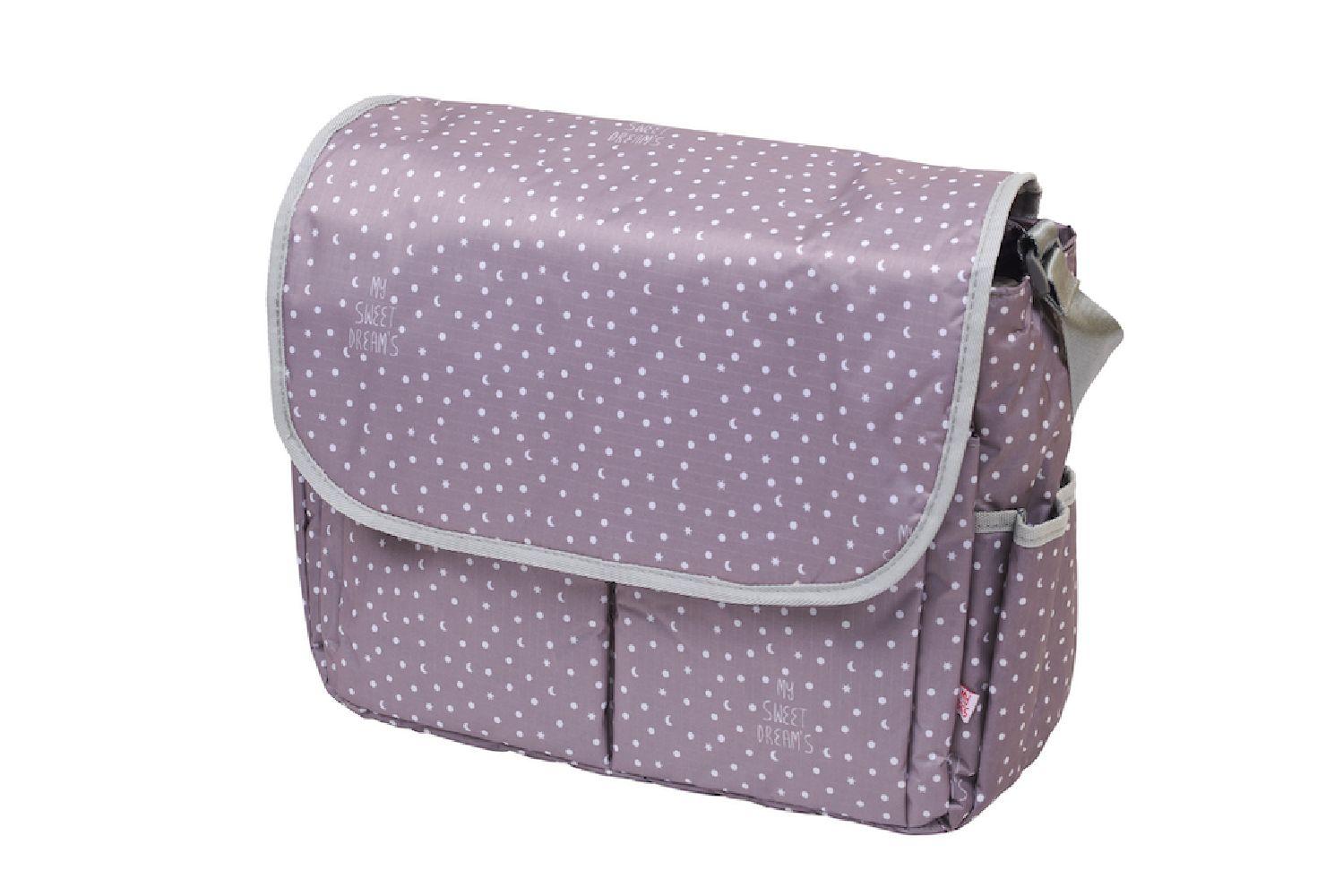 My Bag's - Torba do wózka Flap Bag My Sweet Dream's grey | Esy Floresy