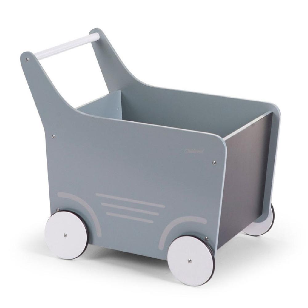 Childhome - Drewniany pchaczek na zabawki Mint   Esy Floresy