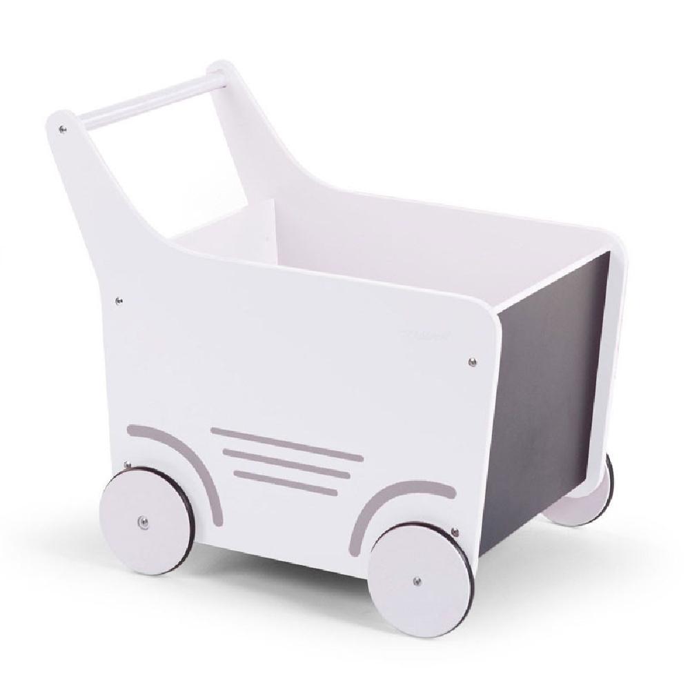 Childhome - Drewniany pchaczek na zabawki White | Esy Floresy